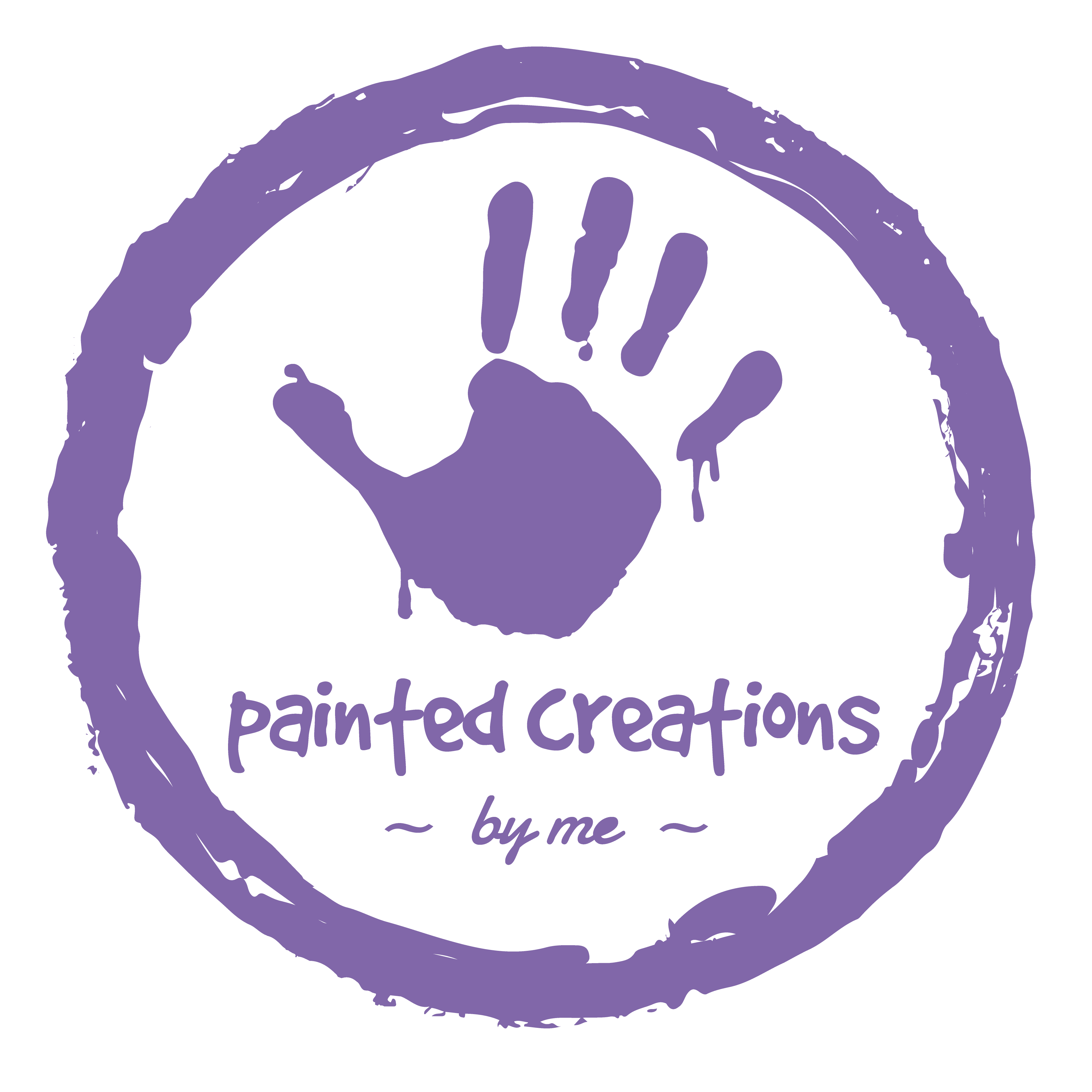 painted creations by me - purple