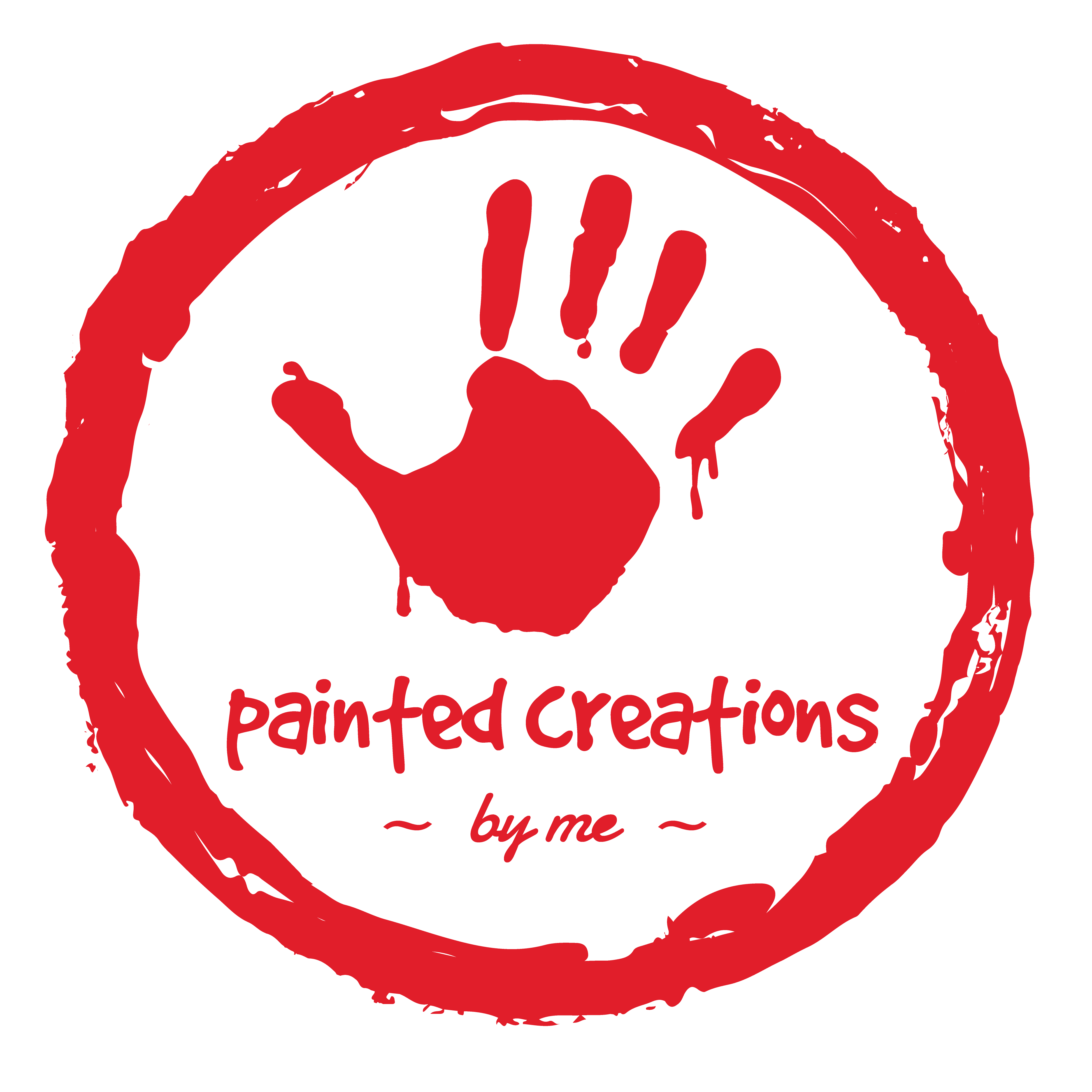 painted creations by me - red