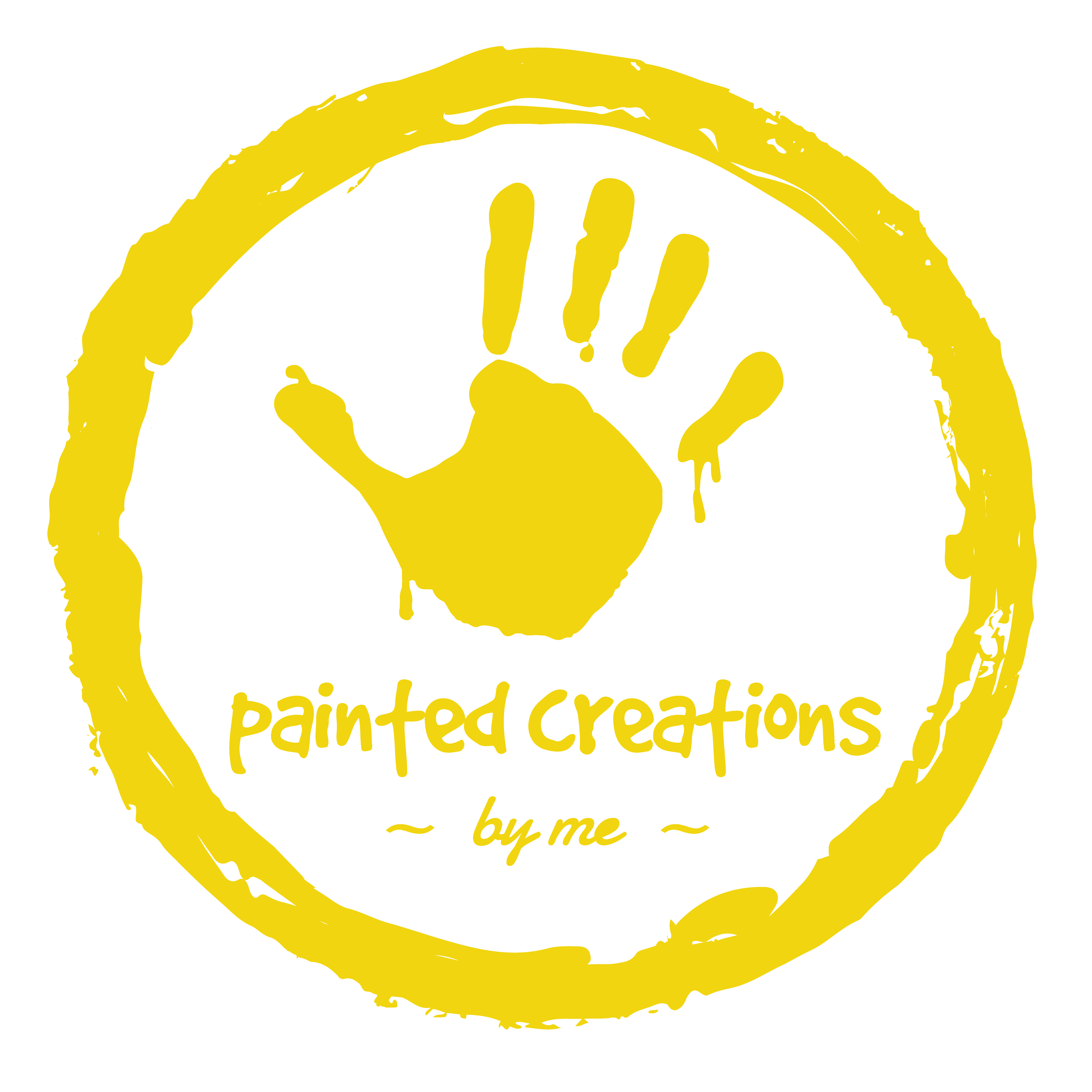 painted creations by me - yellow