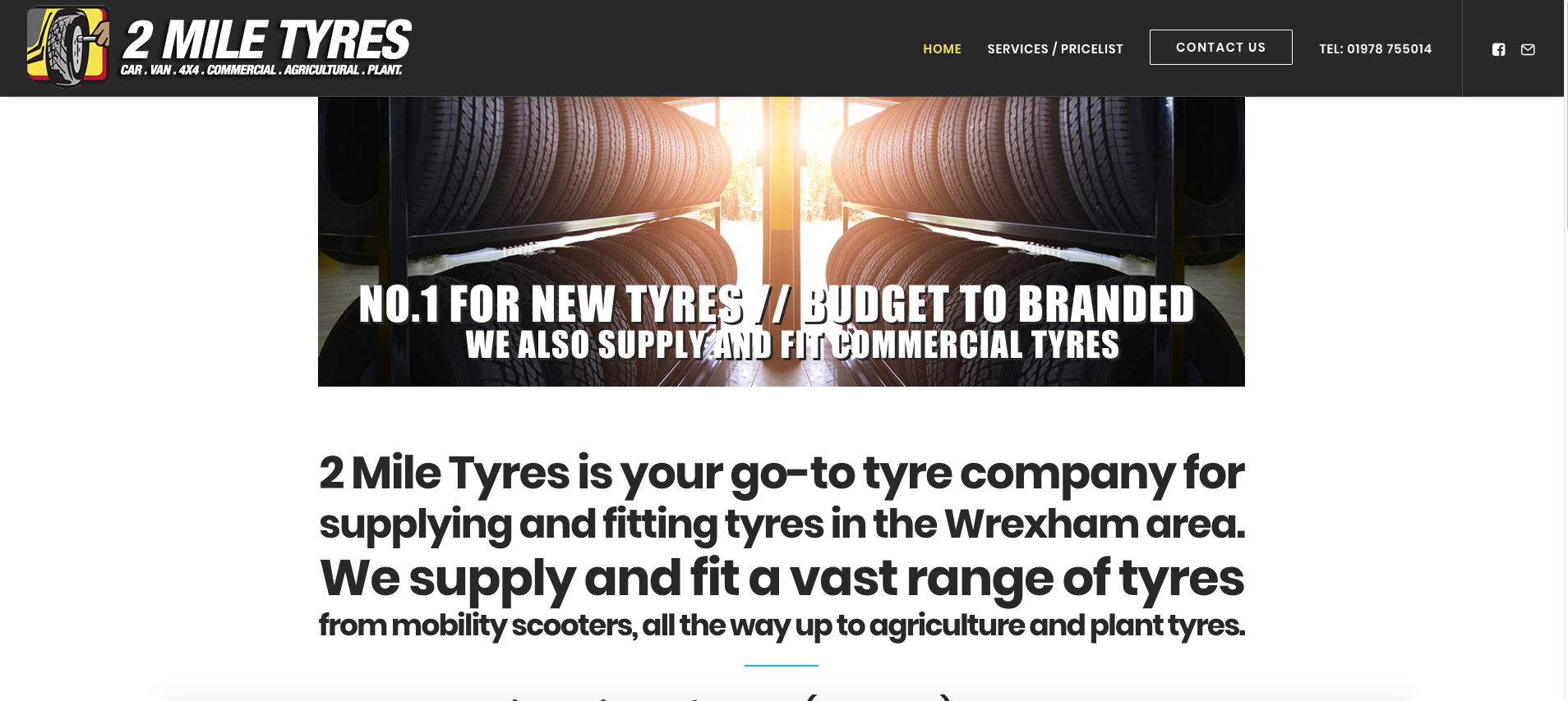 2 mile tyres