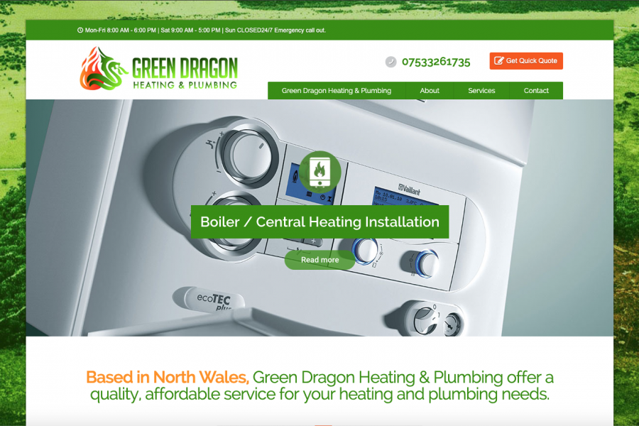 Green Dragon Heating